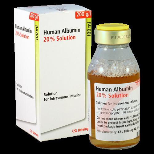 ალბუმინი (ალბურექსი)20% 100მლ_86363
