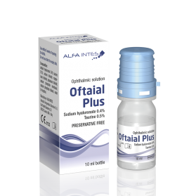 Oftaial plus10ml eye drops