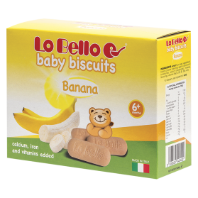Baby Biscuits banana 200g