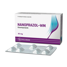 Nanoprazol-WM 40mg #14caps