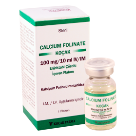 Calcium fol-Kosak 100mg/10ml