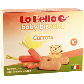 Baby Biscuits carrots 200g