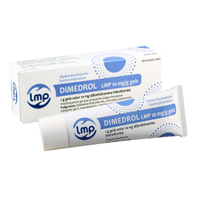 Dimedrol 10mg/g 30g gel tub