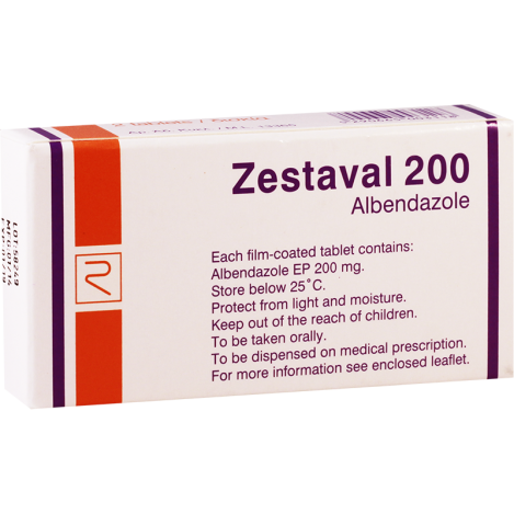 Zestaval 200mg #2t
