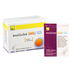 Amoxiklav-denk 1125mg#12pack.