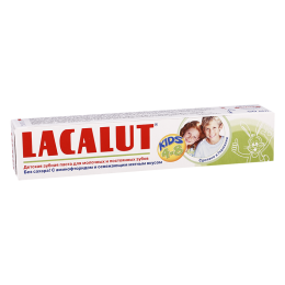 Lacalut baby tooth/paste 4-8