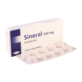 Sineral 500mg #10t