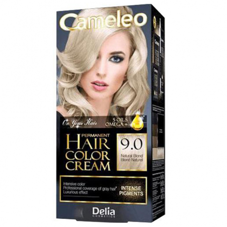 Cam-Hair Col.Cream 9.0