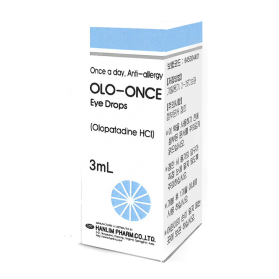 Olo-once 2.22mg/ml 3ml eye dr