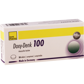 Doxi-denk 100mg #20t
