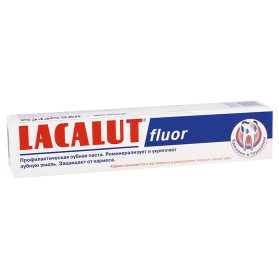 Lacalut dent.paste fluor 50ml