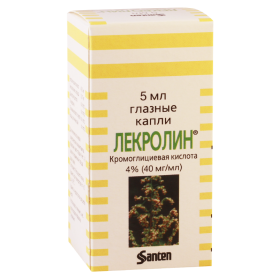 Lecrolin 40mg/ml 5ml fl
