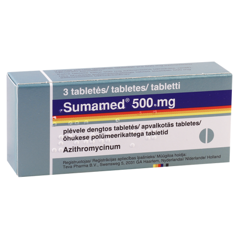 Sumamed 500mg #3t