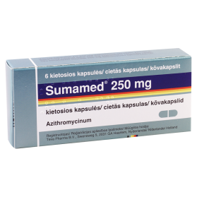 Sumamed 250mg #6caps