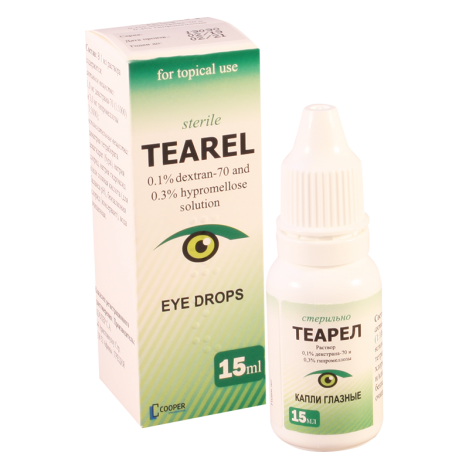 Tearel 15ml  eye drops