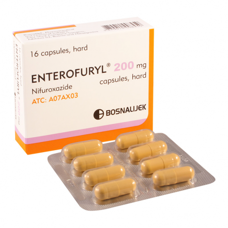 Enterofuril 200mg #16caps