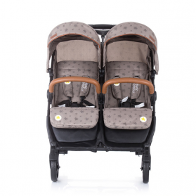 Twin Stroller Passo Doble mocc