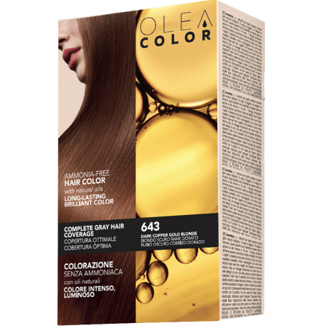 OLEA N.643-DARK COPPER 5850