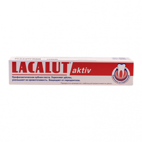Lacalut dent.paste aqtiv 50ml