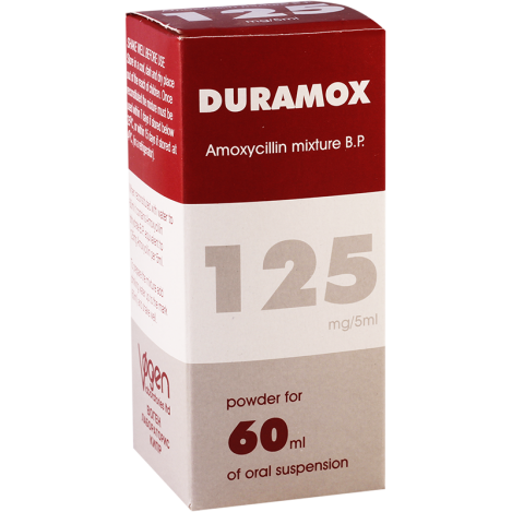 Duramox 125mg/60ml  susp.