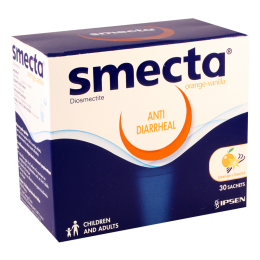 Smecta #1pack. orange/vanile