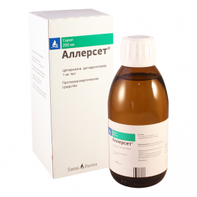 Alerset 1mg/ml 200ml syrup