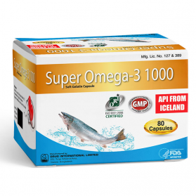 Super Omega-3 1000mg #80caps