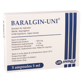 Baralgin 5ml #5a