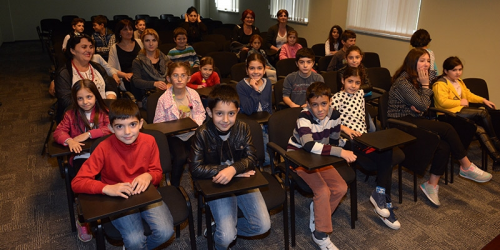 "Pupils visited ""Aversi-Rational"""