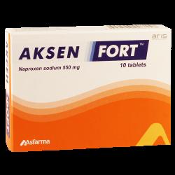 Аксен форте 550мг #10т