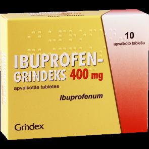 Ибупрофен-Гриндекс 400мг #10т