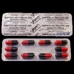 Ampicillin 0.5g #10caps