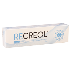 Recreol  50mg/g 50g cream