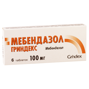 Mebendazol 0.1 #6t latvia