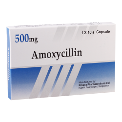 Amoxicillin 0.5g #10caps