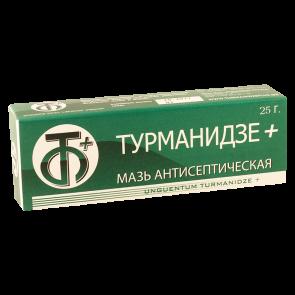Турманидзе плюс25г антис.мазь