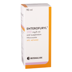 Enterofuril 200mg/5ml90ml susp