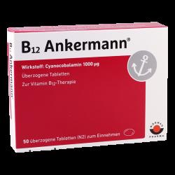 B12 Ankermann 1000mcg #50t
