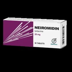 ნეირომიდინი 20მგ #50ტ