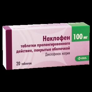 Naclofen 100mg #20t