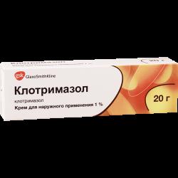 Клотримазол 1% крем 20г GSK