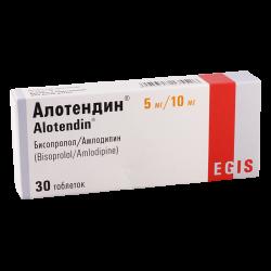 Alotendin 5mg/10mg #30t