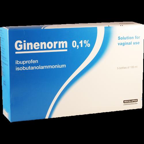 Гиненорм 0.1% 100мл ваг.рас#5