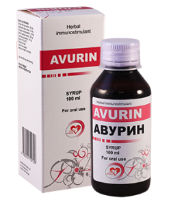 Авурин 100мл сироп
