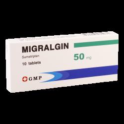 Migralgin 50mg #10t
