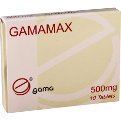 Гамамакс 500мг #10т