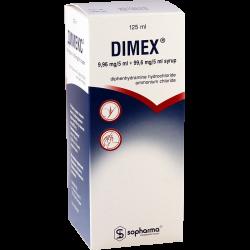 Димекс 125мл сироп (Болг)