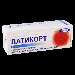 ლატიკორტი 0.1% 20მლ ხსნ