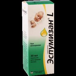 ესპუმიზანი L 40მგ/მლ 30მლ ხსნ