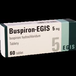 Буспирон-эгис 5мг #60т